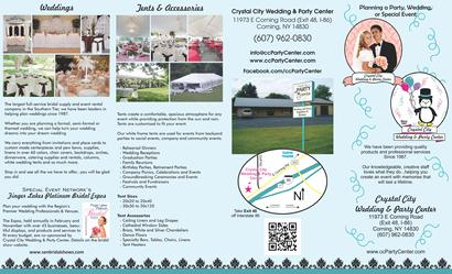 Finger Lakes Weddings And Events Crystal City Wedding